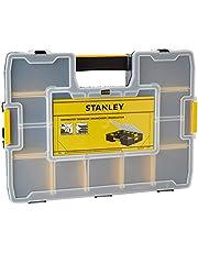 Stanley Gereedschap-organizer Sortmaster (43 x 9 x 33 cm, binnenverdeler aanpasbaar, tot 1024 configuraties mogelijk, verschuift niet, deksel vergrendelbaar) 1-94-745