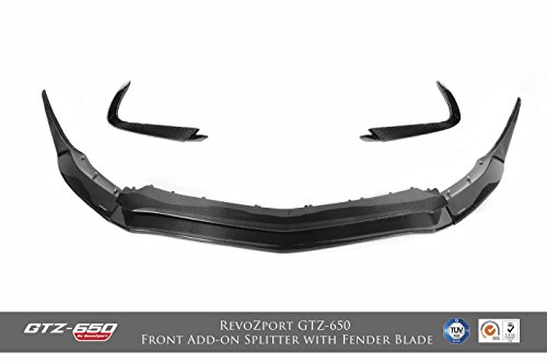 RevoZport GTZ-650 Add-On Front Splitter & Front Fender Blade