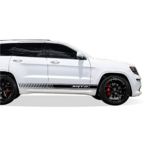 inlay Jeep SRT 8  reflective sticker//decal for bumper hitch cover