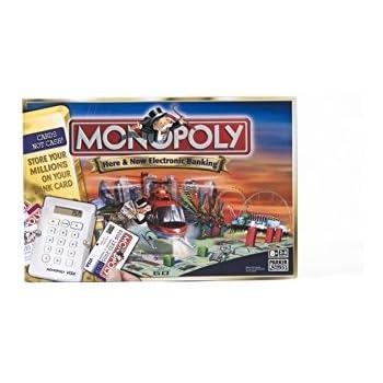 1ef3f0f3f4a Amazon.com: Hasbro Monopoly Electronic Banking, Canada Edition: Toys ...