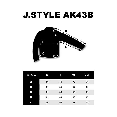 Sweatshirt ak43b Style Bolf Homme Noir Fermeture Capuche Éclair Sportif 1a1 SwHzda