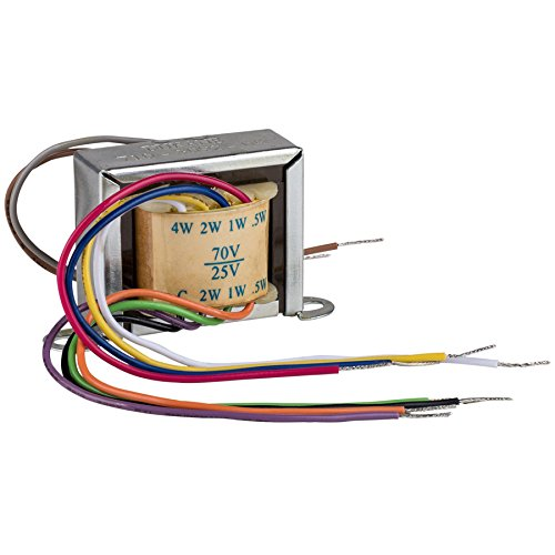 Factory Buyouts Dukane 710-3092-09 4 Watt 25V/70V Speaker Line Matching Transformer