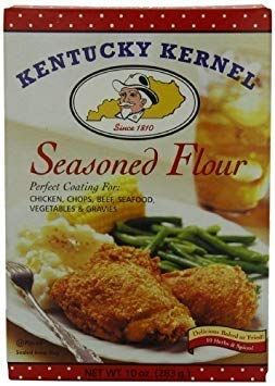 Kentucky Kernel Seasoned Flour, 10 Ounce Box (Pack of 4)
