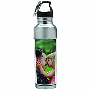 Stainless Steel Photo Water Bottle - Create Your Own