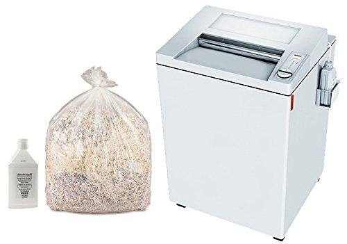 MBM DESTROYIT 4002 STRIP CUT SHREDDER WITH SHREDDER BAGS AND OIL (Shredder with Bags and Oil) by MBM
