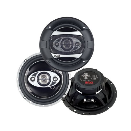BOSS Audio 2 NEW P65.4C 6.5'' 4-Way 400W Car Coaxial Speakers Stereo P654C