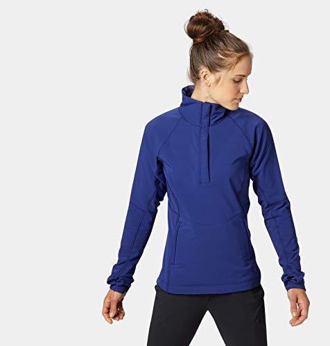 (Mountain Hardwear Womens Keele Pullover, Dark Illusion, Medium)