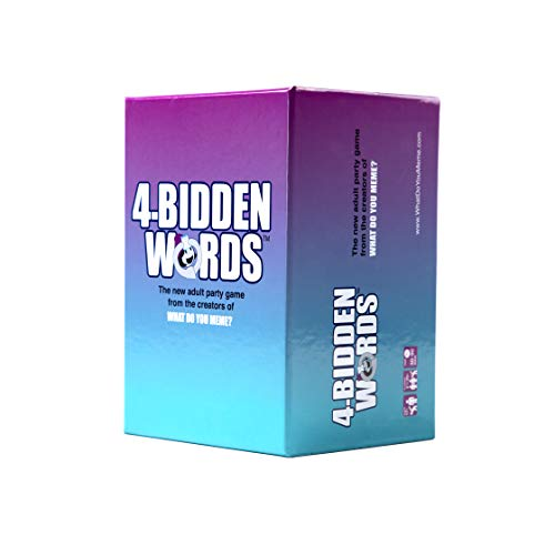 WHAT DO YOU MEME? 4-Bidden Words Adult Party Game (Guess The Word Games For Party Games)