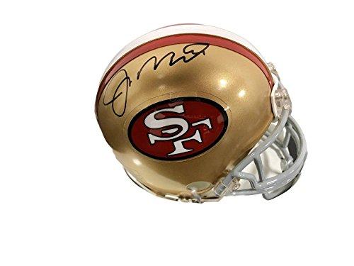 Joe Montana Signed Mini Helmet - T40259 - JSA Certified - Autographed NFL Mini Helmets