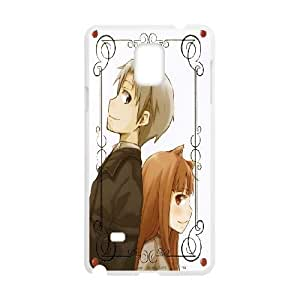 Spice and Wolf Horo Lawrence For Samsung Galaxy Note 4 N9108 Case Cell phone Case Tnug Plastic Durable Cover