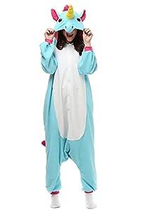Adult Unicorn Onesies Kigurumi Pajamas Cute Animal Costume Cospaly Partywear