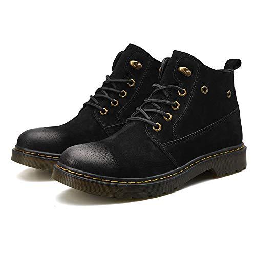 Botas Zapatos Chukka Lace Hombres Up Negro Lydee Invierno Moda rFFtAPn