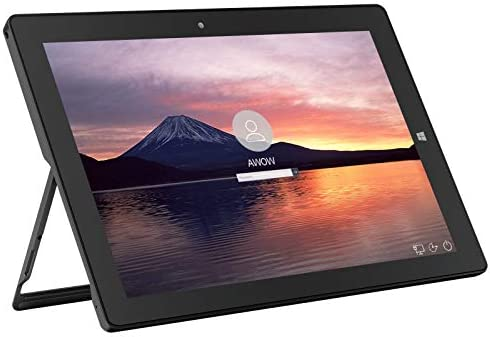Tablet 10.1'' Windows 10 Intel Celeron N3450 Laptop 8 GB RAM 128 GB Storage HD Touchscreen, 5MP Rear Camera, WiFi, Bluetooth AiBook 10
