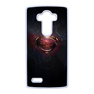 Superman Logo_001 LG G4 Cell Phone Case White Protective Cover