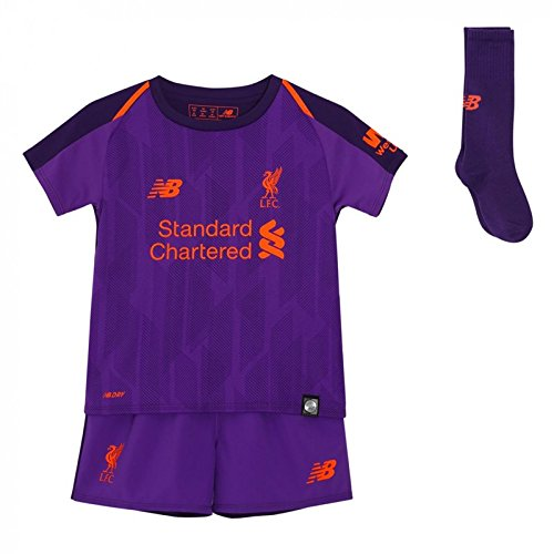 Liverpool Away Kit - New Balance 2018-2019 Liverpool Away Little Boys Mini Kit