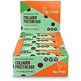 BULLETPROOF Chocolate Chip Collagen Bar, 1.58 OZ (Pack of 12)