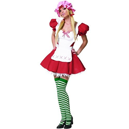 Country Girl Adult Costume - (Strawberry Shortcake Baby Items)