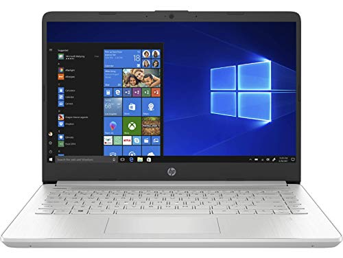 HP 14s-dq1040ns – Ordenador portátil de 14″ FullHD (Intel Core i3-1005G1, 8GB RAM, 256GB SSD, Intel UHD Graphics, Windows 10 Home) plata – Teclado QWERTY Español