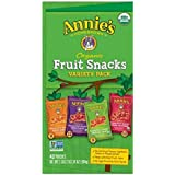 Annie's Organic Bunny Fruit Snacks, Variety Pack, 0.8 oz Each (42 Pouches)