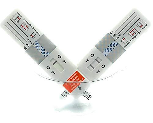Nicotine/Vaping Test Strip Kit (10 pack)w/ urine Sample Cups [Vaping,Smoking,Dipping,E-cig] 10-pack KEH CONTROLS