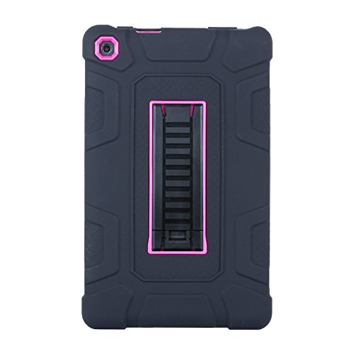 Amazon Fire HD 8 Case ,Jeccy 3in1 Full-body Shock Proof Hybr