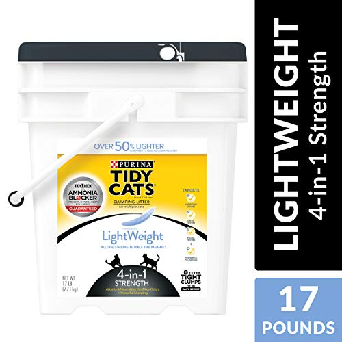 Purina Tidy Cats LightWeight 4-in-1 Strength Clumping Cat Litter ()