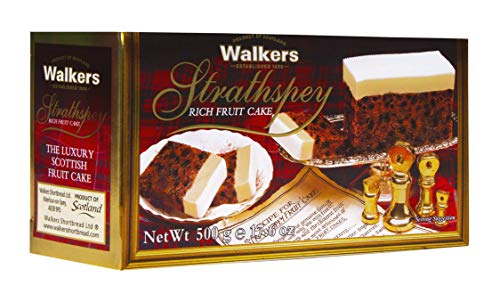 Walkers Shortbread Strathspey Rich Fruit Cake, 17.6 Ounces (Dundee Christmas Cake)