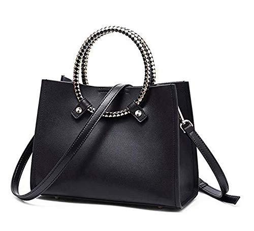 NAWO Women Leather Handbags Designer Tote Top-handle Purse Shoulder Bags Small Cross-body Bag