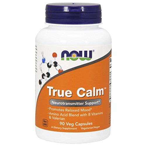 NOW True Calm Veg Capsules