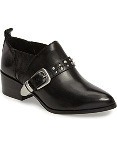 BCBGeneration Loela Leather Bootie Black,8