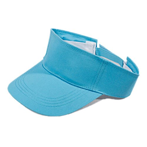 Beechfield Sports Visor Adjustable Cap Unisex Sports Sun Summer Outdoor Hat New
