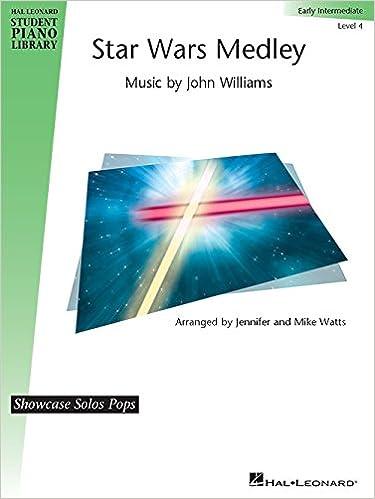 Star Wars Medley - Early Intermediate Piano Solo: John