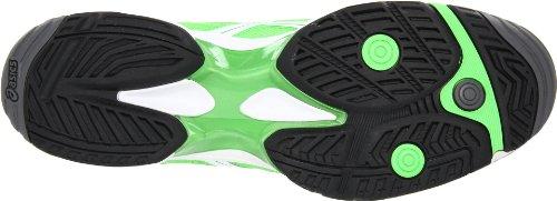 Scarpa Da Tennis Velocità Asics Uomo Gel-solution Neon Verde / Bianco / Nero