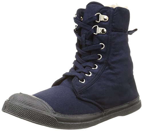 Femme Ranger 516 Bleu Hautes Sneakers marine Bensimon wpqxBUx