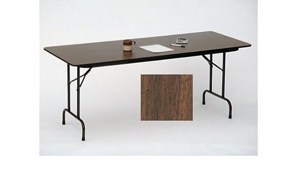 Amazoncom High Pressure Folding Table In Black Granite 36 In X