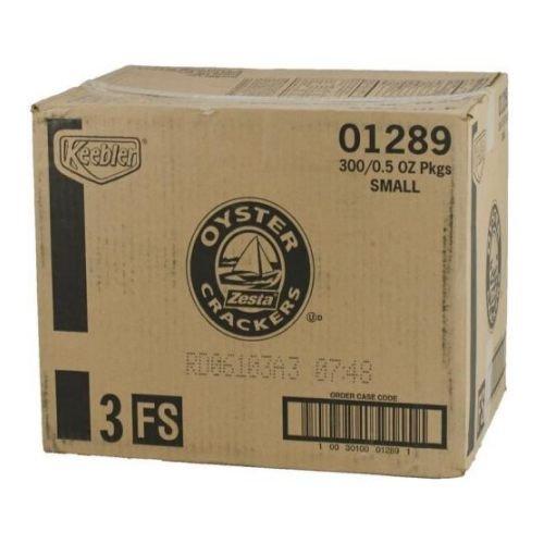 Krispy Keebler, Zesta, Oyster Crackers, Single Serve, 0.50 oz Pouch(Pack of 300)