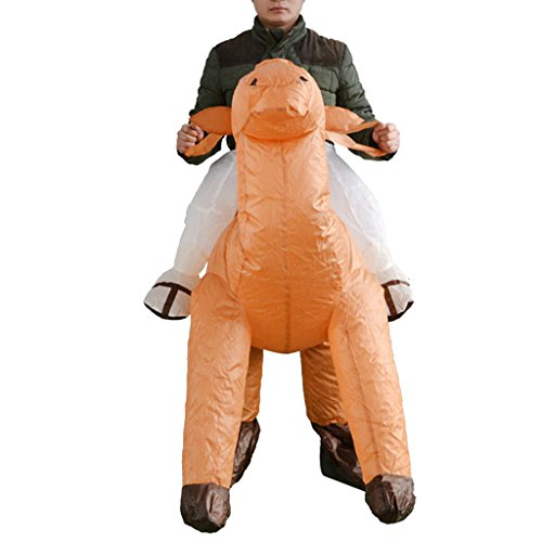 MagiDeal Inflatable Camel Rider Costume Outfit Adult Cosplay Party Fancy Dress Up
