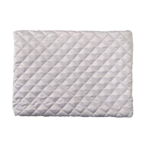 QUALITYDEPOT DraftDefenderPremium Hypoallergenic Dust Mite & Allergy Control Diamond Cream Winter Indoor Air Conditioner Cover for Indoor Ac Units Stitched Cotton Poly Pattern ()
