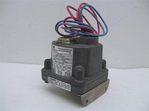 Barksdale D1H-A150 Pressure or Vacuum Actuated Switch