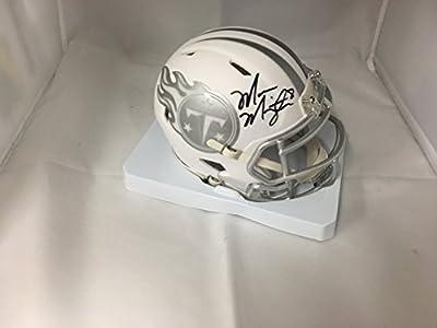 Marcus Mariota Signed Autographed Tennessee Titans Rare ICE Mini Helmet GTSM Hologram