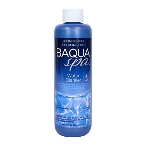 (Baqua Spa 83814 Water Clarifier with Bioplex NMF Spa Maintenance, Clear)