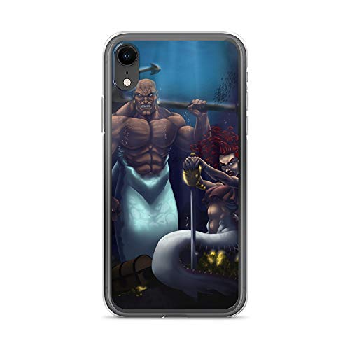 iPhone XR Case Anti-Scratch Phantasy Imagination Transparent Cases Cover Undersea Pirates Fantasy Dream Crystal Clear