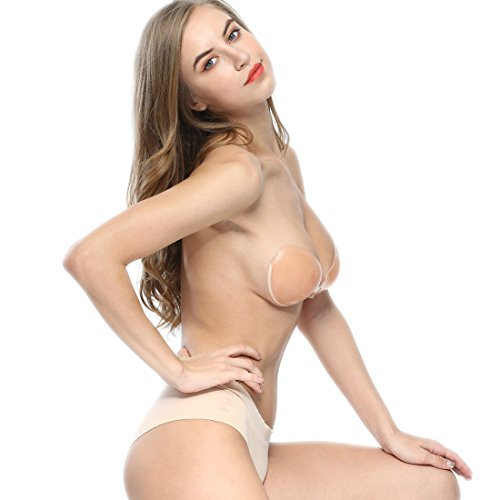 Underwire Adhesive Bra Strapless Sticky Bra Invisible Push up Silicone Bra for Backless Dress