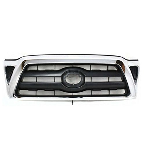 For 05-10 Tacoma Truck Front Grill Grille Assy Chrome Frame TO1200268 5310004360