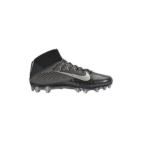 Nike Football Shift - Nike Men's Vapor Untouchable 2 Football Cleat Black/Anthracite/Metallic Silver Size 10 M US