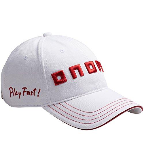 オノフ ONOFF 帽子 キャップ YOK0117 ホワイト/レッド フリー
