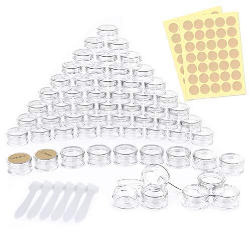 🥇 60 Piezas Contenedores de plástico