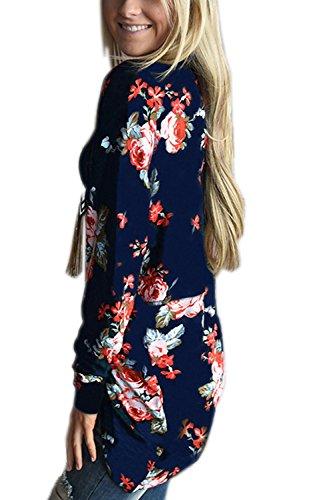 Walant Floral Boyfriend Cardigans Outwear