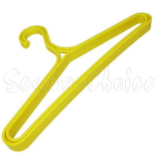 Scuba Choice Scuba Diving Heavy Duty BCD BC Wetsuit Drysuit Hanger, Yellow