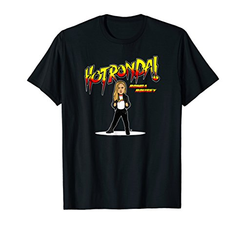 WWE Nerds Clothing Hot Ronda Rousey Cartoon T-shirt by WWE